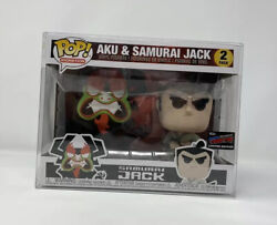 Aku And Samurai Jack Funko Pop Nycc Comic Con Limited Edition Vaulted