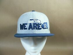 Seattle Seahawks 12 Flag Nfl Hat 59 Fifty New Era Fitted Size 6 5/8 Cap Youth