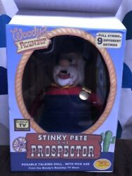 Toy Story Prospector Figure Stinky Pete Doll Woody's Roundup Ss1