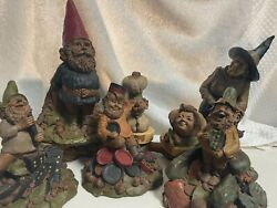 Tom Clark Cairn Studio Collection Of 7 Gnomes