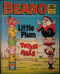 Beano Comic Library Issue No. 92 Little Plum in Totem Pals GBP 4.59
