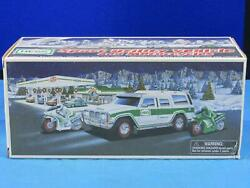 Vintage 2004 Hess 40th Ann Truck Sport Utility Vehicle And Motorcycles Suv W/ Box