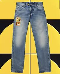 Lego Group X Levi's 501 '93 Straight Fit Men's Jeans Limited Edition New 36 X 32