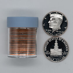 1976 S Proof Kennedy Half Dollars 50c Gem Pf Estate Unsearched - 1 Roll 20 Coins