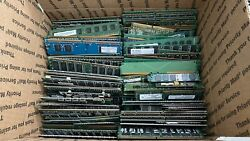 Gold Recovery Lot Of 15 Lbs - Old Computer Memory Chips Ram For Scrap