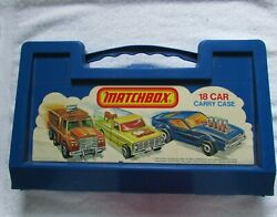 Lesney Match Box Cars-trucks-trailers-england-2 Boxes-42 Die Cast-1960-1980-used
