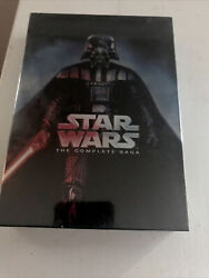 Star Wars The Complete Saga Movies 1-6 Dvd 13-disc Set - New / Sealed