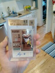 2017 Panini Contenders Taysom Hill Playoff Ticket Rc Bgs 9.5 10 Auto 02/99