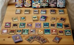 500+ Yugioh Cards Collection Ultra Rare, 1st Edition And Blueeyes With 1 Ske-001