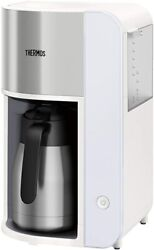 Thermos Vacuum Insulation Pot Coffee Maker 1l White Eck-1000 Wh
