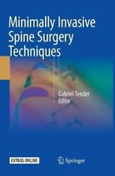 Minimally Invasive Spine Surgery Techniques 2018, Trade Paperback