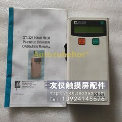 Handheld Counter Gt-321 Cleanliness Detector Laser Dust Particle Gt321