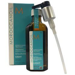 Moroccanoil Oil Treatment Light With Pump 3.4oz 100ml  Buy With Confidence