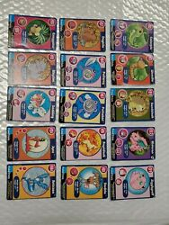 1999 Pokemon The First Movie - Collectible Scene Magazine Cards 15 Cards