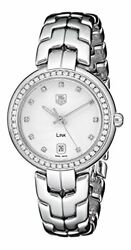 Tag Heuer Womenand039s Wat1316.ba0956 Diamond-accented Stainless Steel Watch