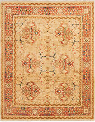 7and03910 X 10and0391 Hand-knotted Carpet Traditional Oriental Wool Area Rug