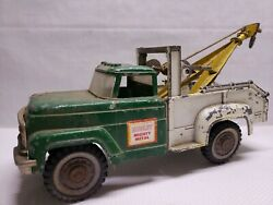 Vintage Rare 1960s Hubley Mighty Metal Tow Hook Truck