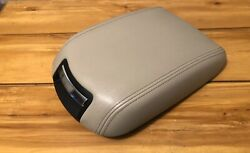 Ford Taurus 11 12 13 14 15 16 17 Front Console Arm Rest Armrest Lid Stone Oem