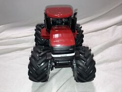 Case Ih Steiger Tractor By Ertl Monster Tires 4x4 Diecast With Action / Sounds