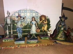 Jim Shore Wizard Of Oz Lot With Display Plus Witch