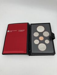 Royal Canadian Mint / Proof Double Dollar Set Silver 7 Coins 1980 / Full Case B2