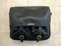 NEW 100% Authentic Chrome Hearts Leather Messenger Laptop Bag Briefcase $2699.00