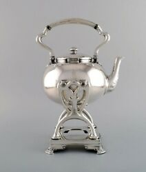And Company New York. Tea Service In Sterling Silver. Late 19th C.