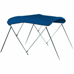 Carver A4687ub-4 46h Pacific Blue Boat Bimini Top - 85 To 90 New
