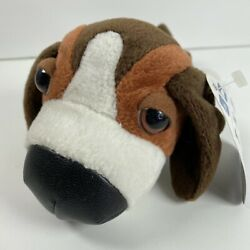 """Plush Artist Collection The Dog Beagle Stuffed Animal Toy 7"""" 2002 All Tags Pup"""