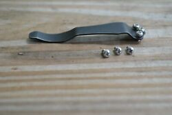 Emerson Knife Stainless PHILLIPS Head 3 Screw Set for Pocket Clip CQC 7 amp; others