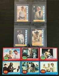 1977 Topps And Wonder Bread Star Wars Singlesselect From Menu List90 Nm To Mint