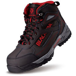Work Boots Safety Shoes Steel Toe Shoes Sneakers Yak-66 Black Made In Korea