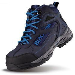 Work Boots Safety Shoes Steel Toe Shoes Sneakers Yak-66n Navy Made In Korea
