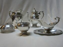 Vintage Star Rogers Brothers International Silver Co. Rare Set Nice