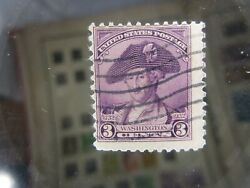 Washington With Hat 3 Cent Stamp And Washington 7 Cent Stamp You Will Get Both