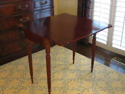 The Bombay Company Expandable Cherry Accent/hall/console/dining Table Pickup Nva