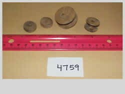 O Scale Wood Spools Set Of 4 Model Train Layout Accessories 4759