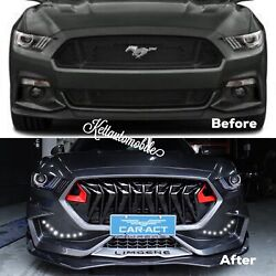 2015-2017 Ford Mustang Conversion To Limgene Front Bumper And Splitter