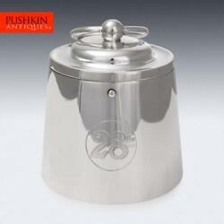 Antique 20thc Edwardian Silver Plated 28lbs Weight Ice Bucket C.1900