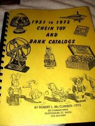Vintage 1931 J Chein Pail/drum Toy History And Bank Catalogs Book Out-of-print Oop