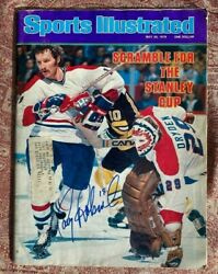Autographed Larry Robinson Sports Illustrated May 29th 1978