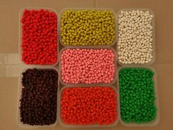 Dumbell Boilie Pellets In 4 Sizes 6 Mm 8 Mm 10 Mm 12 Mm Sweetcorn Flavour