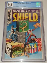 Nick Fury Agent Of Shield 1 Cgc 9.6 White Pages Marvel 1968 S.h.i.e.l.d. Sa