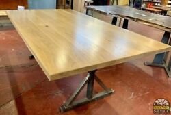 Hand Crafted White Oak Tabletop, 84 X 48