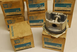 1968 1969 Cadillac Nos Engine Piston And Ring Set