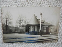 Rppc-wernersville Pa-south Mountain Railroad Station-train Depot-reading Rr
