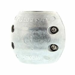 Martyr Anodes Streamlined Shaft Anodes With Stainless Steel Slotted Head Zinc