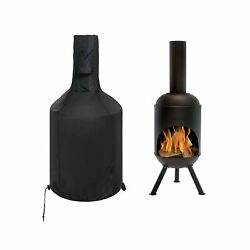 Siruiton Chiminea Cover Outdoor Waterproof Breathable Oxford Polyester Chimin...