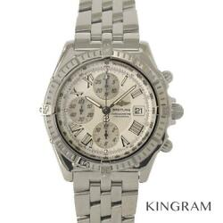 Breitling Chronomat A13355 Crosswind Exterior Finished Overhauled From Japan