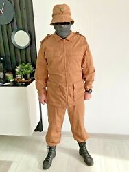 Russian Army In Syria Suit Set Jacket, Pants, Shorts, Panama Hat